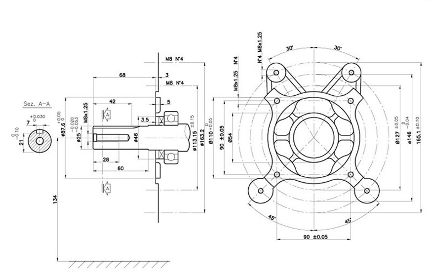motore kohler ch440 4t 14 hp command pro